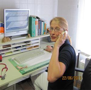 Dr. med. vet. Cathrin-Hauffe